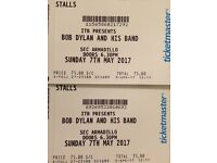 Bob Dylan Tickets x2 Glasgow Sun 7th May