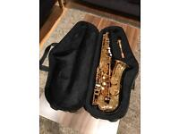 MAKE OFFER - Trevor James Classic II gold lacquered 37226 Saxophone