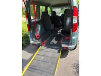 Disabled Wheelchair adapted car Fiat, DOBLO, MPV, 2010, Manual, 1368 (cc), 5 doors
