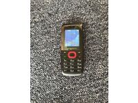 MOBIWIRE AYASHA BLACK/RED - MOBILE PHONE