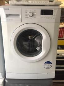 BEKO white good looking 7kg 1300spin A+ washing machine