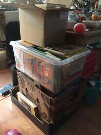 Large joblot of books