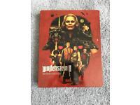 LE Wolfenstein 2 BRAND new game steelbook case