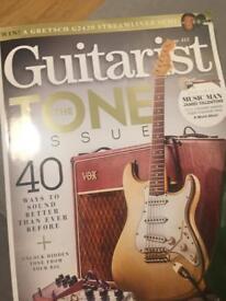 Bag of guitarist magazine