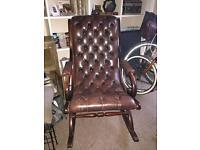 Chesterfield Rocking Chair York Slipper