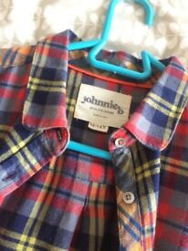 Girls/Women's checked shirt