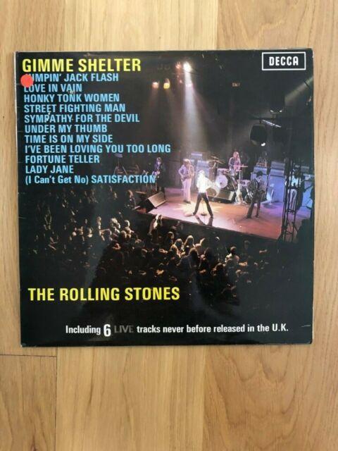 THE ROLLING STONES GIMME SHELTER VINYL LP | in Weavering, Kent | Gumtree