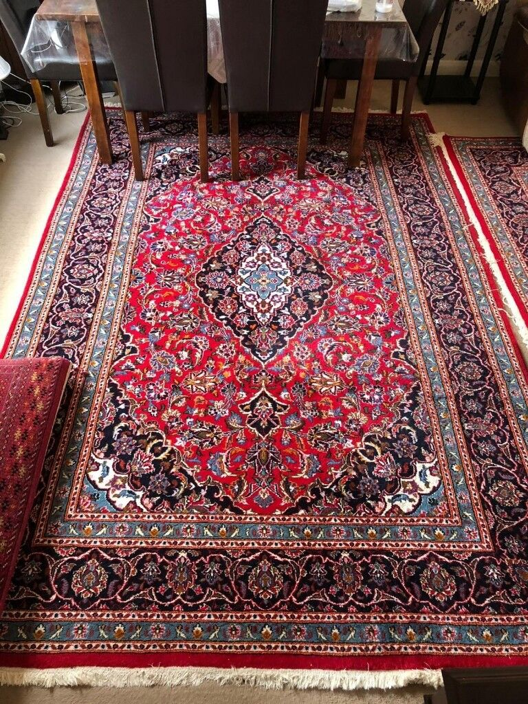 A Pair Of Persian Rugs 2m X 3m Each Second Hand