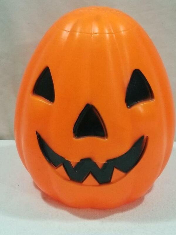 "Vintage 13"" Empire Pumpkin Halloween Blow Mold   FREE USA SHIP"