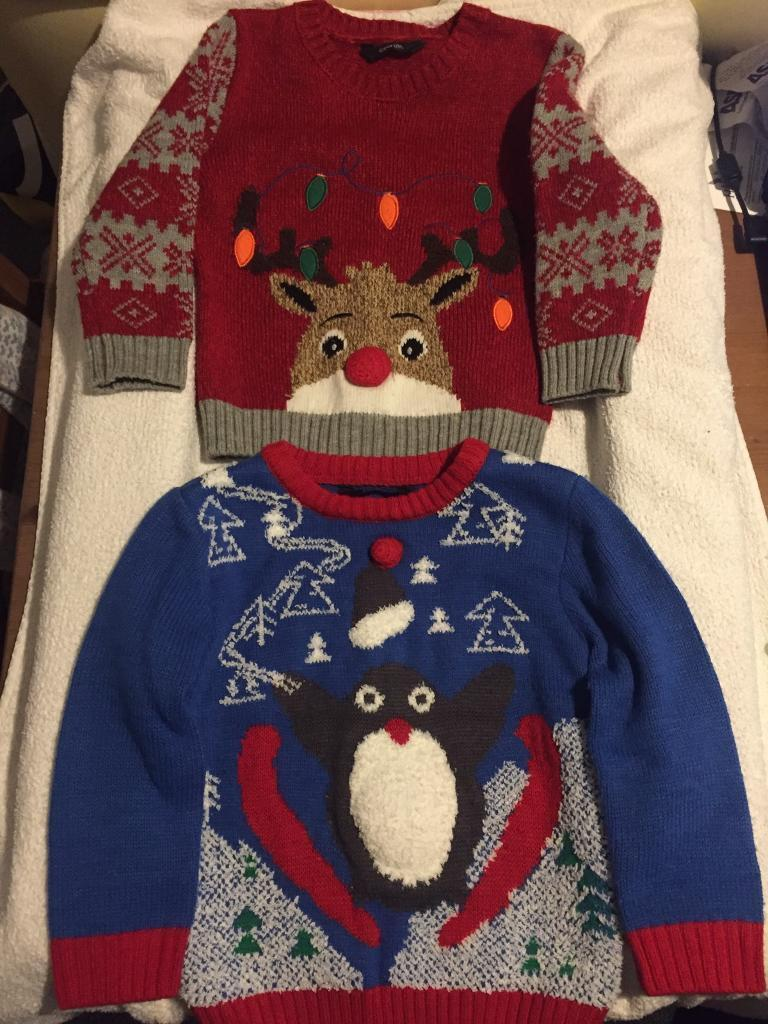 Christmas Jumpers 11/2-2yrs