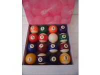 superpro 16 ball set billiard balls