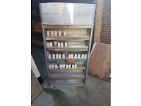 Cigarette gantry display unit