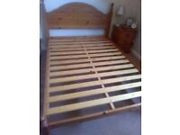 Ducal Pine Double Bed