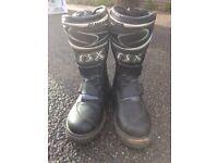 RSX motor bike boots
