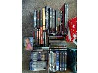 Big selection of Buffy the Vampire Slayer and Angel books and DVDs