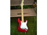 Japanese Squier Stratocaster w/ Dimarzio hs-3 p/ups