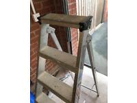 Young man 6 tread step ladders used but good condition