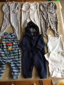 Huge baby bundle newborn 0-3 months over 50 items