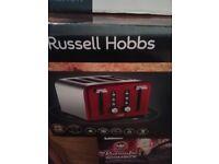 Russell Hobbs 4 slice toasterNEW