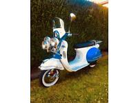 AJS Modena 50cc scooter / moped not lambretta vespa