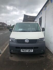 Volkswagen T5 132 b.h.p 129750miles year mot not a dent on her