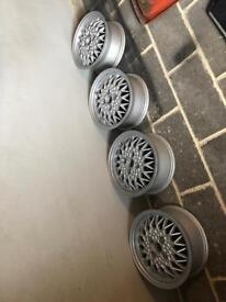 14 inch BBS Alloy wheels