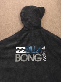 Billabong Kids Surfer Poncho / Changing Robe / Towel