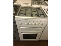 55CM WHITE LEISURE GAS COOKER GRILL/OVEN