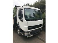 2002 FLATBED DAF LORRY 24 FOOT BODY PSV TO JULY 2019