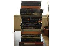 63 Brand New/ Used books