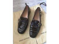 Authentic Louis Vuitton driving shoes UK 7