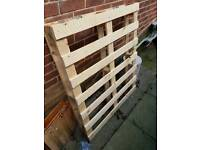 FREE WOOD PALLET SHED ALLOTMENT FIREWOOD