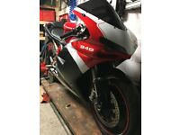 Ducati 848, 12k, Full Main Dealer History, Slight Damage, Cat D