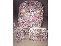 Cath Kidston 'little flower buds' mini backpack and matching accessories
