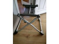 Mamas and papas surefix carrycot stand (grey)