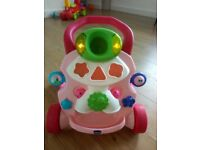 Chicco baby walker which is in very good condition