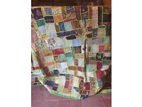 "Beautiful Indian wall hangings 8ft x6 ft 243 cm x 182 cm and 81""x 81 "" 205 x 205 cm"