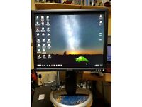 Dell Monitor - Model 1901FP. Excellent Condition - (Dell - Not to be confused with Cheap Monitors)