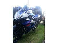 Suzuki GSXR 750 K7 great condition, a couple of age related marks, great performance, K&N filter