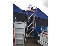 Massive 8.2m w/h alto alloy scaffold tower
