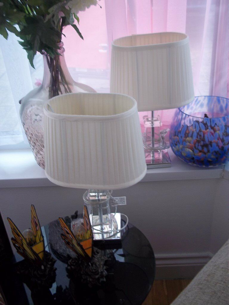 2 new pretty table lampsdunelm in sunderland tyne and wear 2 new pretty table lampsdunelm aloadofball Image collections