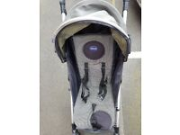 Chicco Liteway Baby Stroller - Light weight ideal for holidays Black Grey colour Used good condition