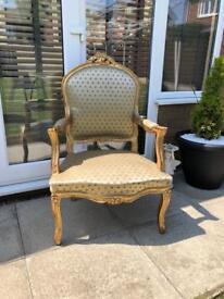 Beautiful large ornate chair
