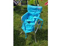 Kampa portable camping high chair