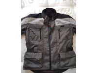 Hein Gericke textile jacket with fleece lining