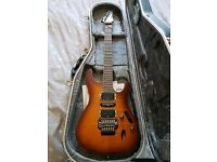 Ibanez s870fm electric guitar as new