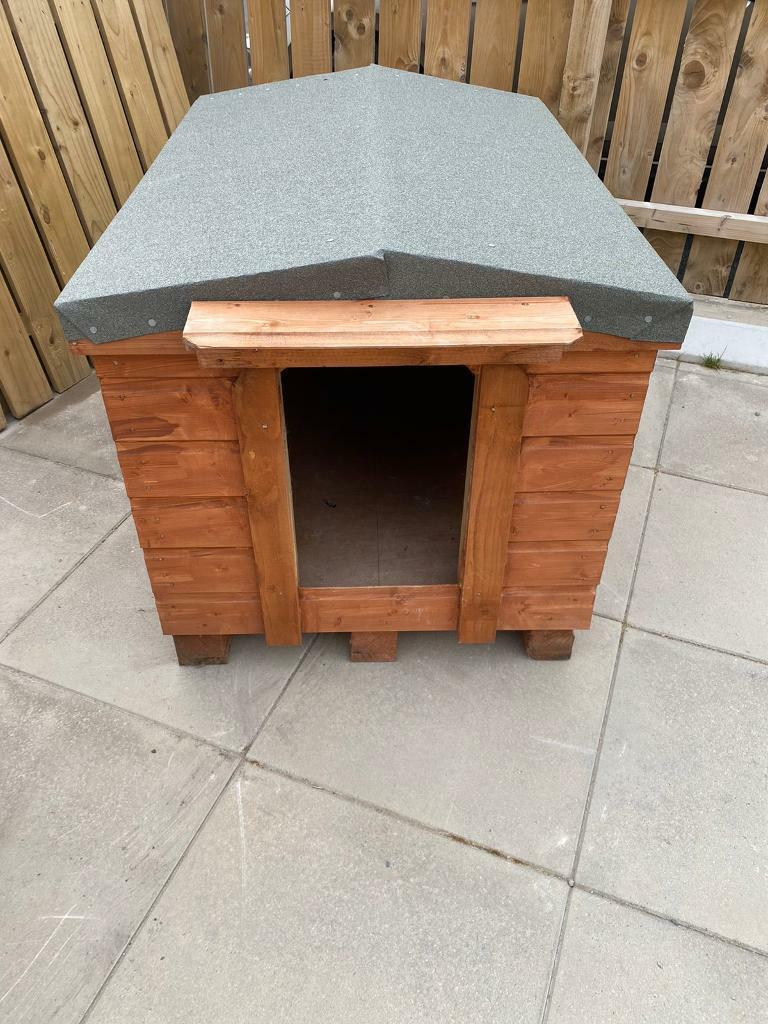Used Dog Kennel Good Condition In Dundonald Belfast Gumtree