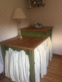 Wooden Country Buffet Table