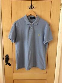 Extra Large Blue Ralph Lauren Polo T-Shirt