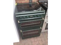 Green gas cooker 55cm. Cheap free delivery